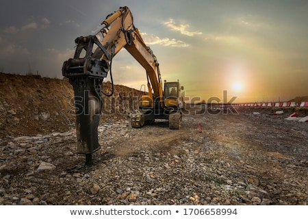 Large excavator Stock photo © hd_premium_shots