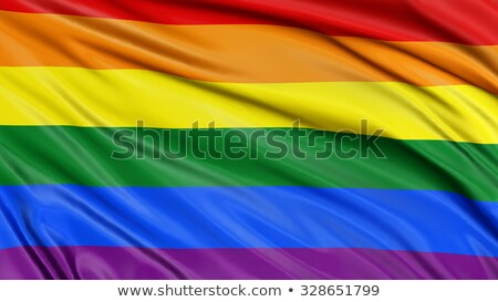 reggae · vlag · blauwe · hemel · Rood · Geel · groene - stockfoto © chrisbradshaw