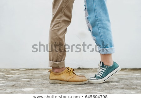 young woman standing close to her lover  Stock photo © feedough