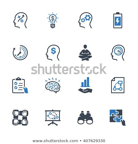 puzzle · manquant · pièce · horloge - photo stock © tashatuvango