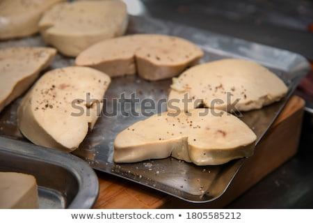 гусь печень мяса Рождества утки Кука Сток-фото © M-studio