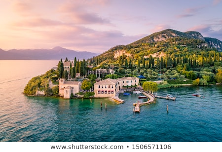 Lake Garda Punta San Vigilio  Stock photo © LianeM