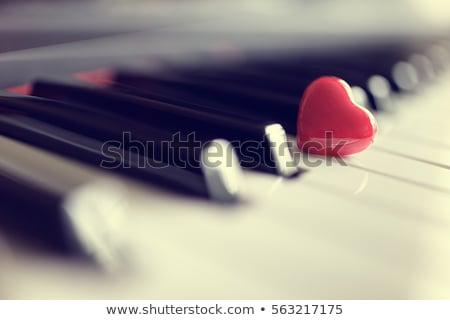 music love concept stock photo © burakowski