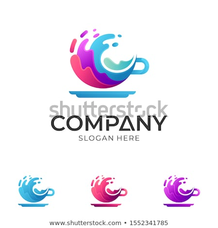 Beverage company logo Stock photo © shawlinmohd