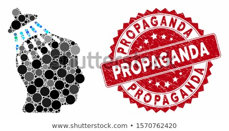 Propaganda-stamp Stock photo © carmen2011