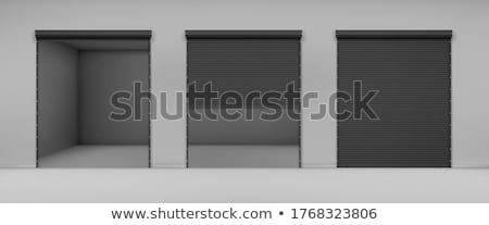 Warehouse storage doorsclosed. Stock photo © stevanovicigor