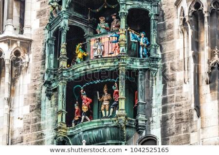 町役場 · ミュンヘン · ドイツ · 市 · 通り · 教会 - ストックフォト © meinzahn