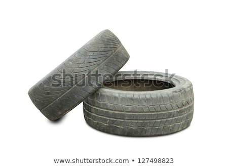 old tires background stock photo © jonnysek