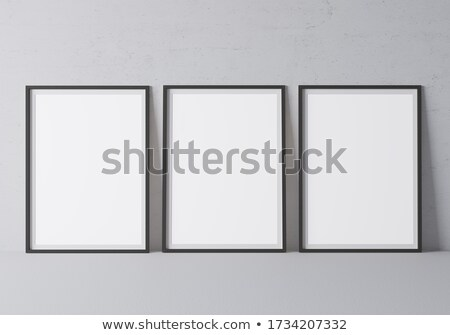 drie · lampen · muur · ontwerp · glas · kaars - stockfoto © stevanovicigor
