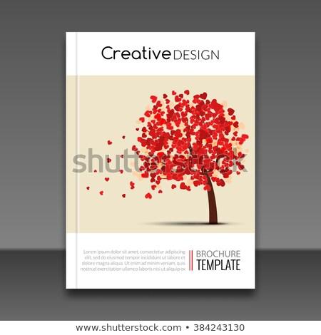 Modern Book Cover Vector ~ Moderne · vector abstract liefde sjabloon