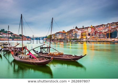 traditional porto scene portugal stock photo © joyr
