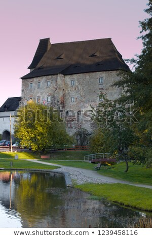 Skalna Castle, Czech Republic Stock photo © phbcz