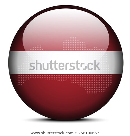 карта точка шаблон флаг кнопки Латвия Сток-фото © Istanbul2009