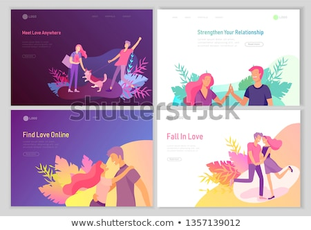 Happy lovers stock photo © pressmaster
