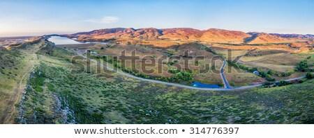 cityscape · fort · tipico · residenziale · Colorado - foto d'archivio © pixelsaway