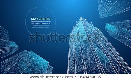 аннотация · города · геометрический · компьютер · город · искусства - Сток-фото © balabolka