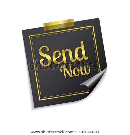 送信 付箋 ベクトル アイコン デザイン ストックフォト © rizwanali3d