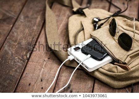 smartphone · batterie · générique · 3D · rendu · illustration - photo stock © adamr