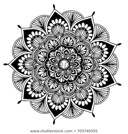 曼陀羅 フローラル 民族 抽象的な 装飾的な 要素 ストックフォト © Fosin