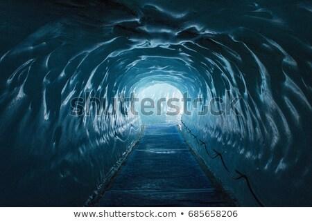 Ice tunnel  Stock photo © Kotenko