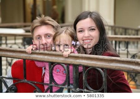 молодые · семьи · Москва · универсальный · магазине · улыбка - Сток-фото © Paha_L