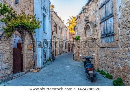 Városkép óváros Ciprus ház épület város Stock fotó © Kirill_M