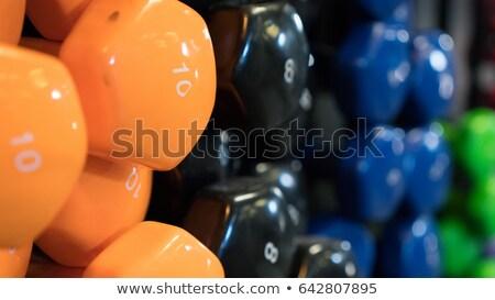 buty · do · biegania · treningu · siłowni · dziedzinie · skupić · front - zdjęcia stock © jamirae