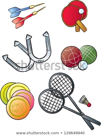 Golf ball, horseshoe, tennis ball Stock photo © Koufax73