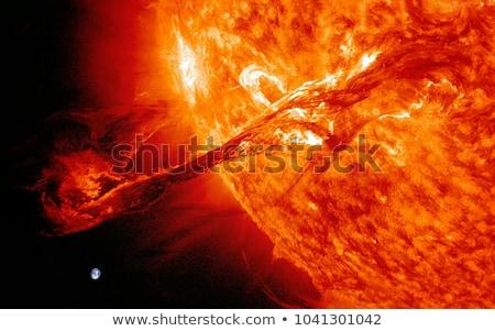 Aarde derde planeet zon illustratie water Stockfoto © bluering