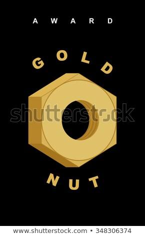 mühendis · altın · vektör · ikon · dizayn · dijital - stok fotoğraf © maryvalery