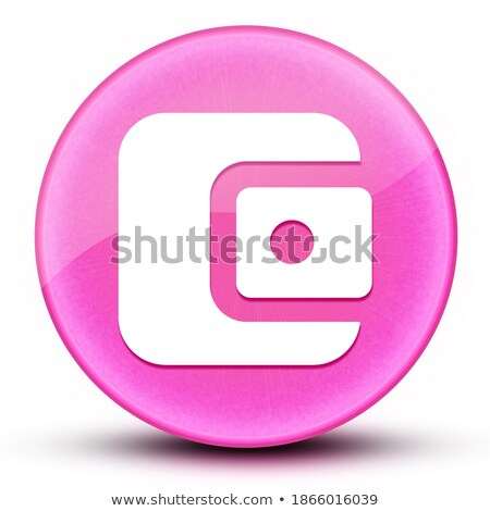 round buttons with wallets stock photo © bluering