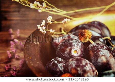 Naturelles organique cuivre rustique style Photo stock © user_11056481