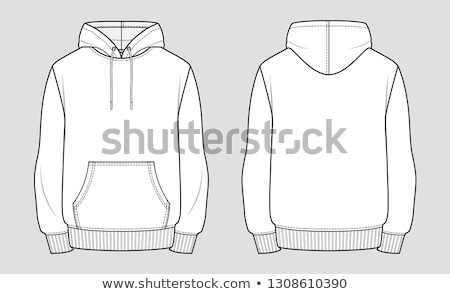 White men's clothing templates Stock photo © robisklp