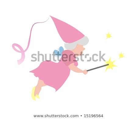 Fairy Godmother Making a Wish Stock photo © Dazdraperma