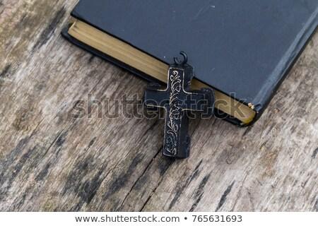 Holy Cross and Holy Book stock photo © sdCrea