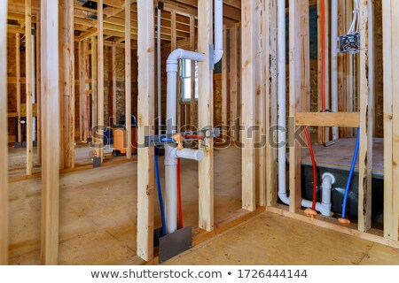 PEX and drain pipes Stock photo © icemanj