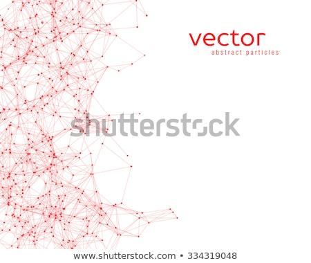 科学 赤 抽象的な 3D レンダリング 水 ストックフォト © klss