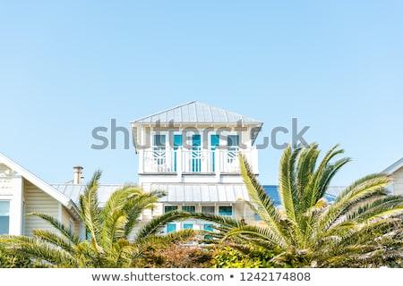 Photo stock: Cottage On Beach