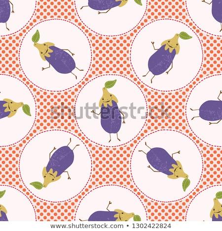vintage · canneberges · étiquette · style · fruits - photo stock © conceptcafe