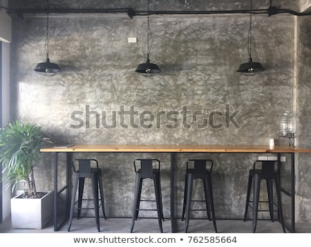 Cafe in loft style Stock photo © bezikus