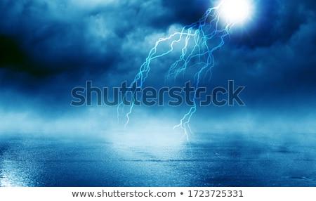 tornade · paysage · scène · illustration · ciel · résumé - photo stock © bluering