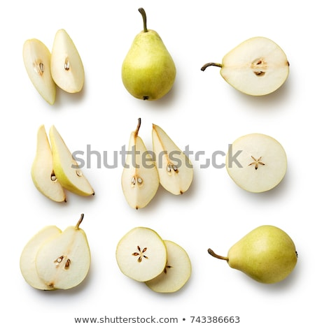 whole and sliced pears Stock photo © Digifoodstock