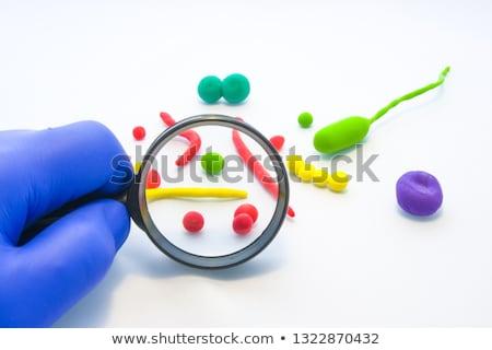 General investigación análisis lupa hombre papel Foto stock © tashatuvango