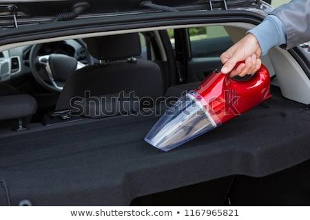 auto · dienst · personeel · schoonmaken · auto · draagbaar - stockfoto © wavebreak_media