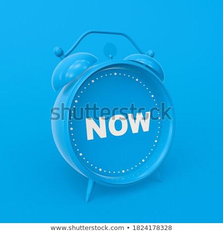 business idea   wording on watch 3d illustration stock photo © tashatuvango