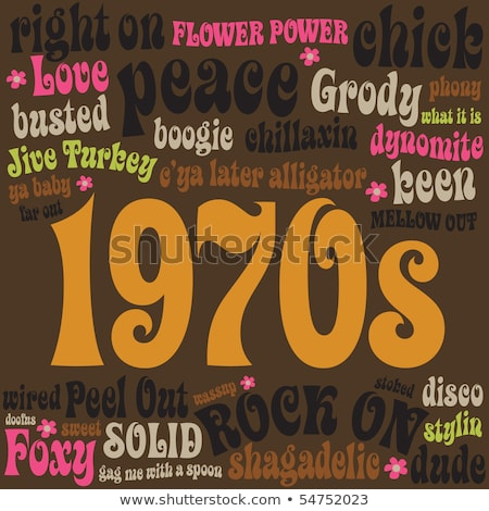 Seventies Disco Banner Stock photo © matt_post