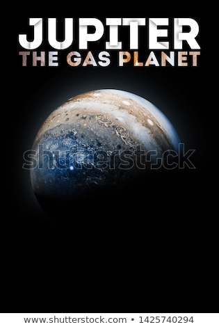 Foto stock: Solar System - Uranus Isolated Planet On Black Background