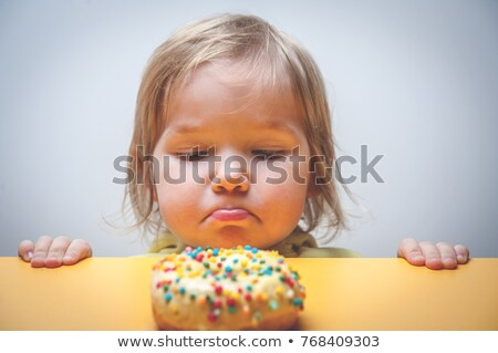 child grabbing sweets Stock photo © IS2
