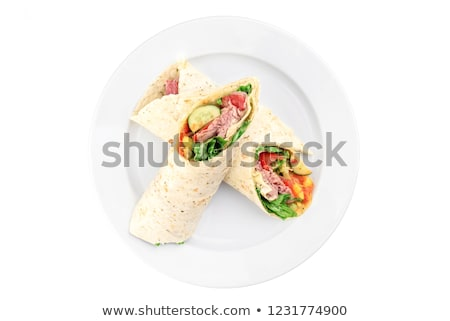 Foto d'archivio: Due · primo · piano · vegetariano · pranzo · sani
