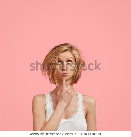 Young woman having bad hair day Stock photo © sumners